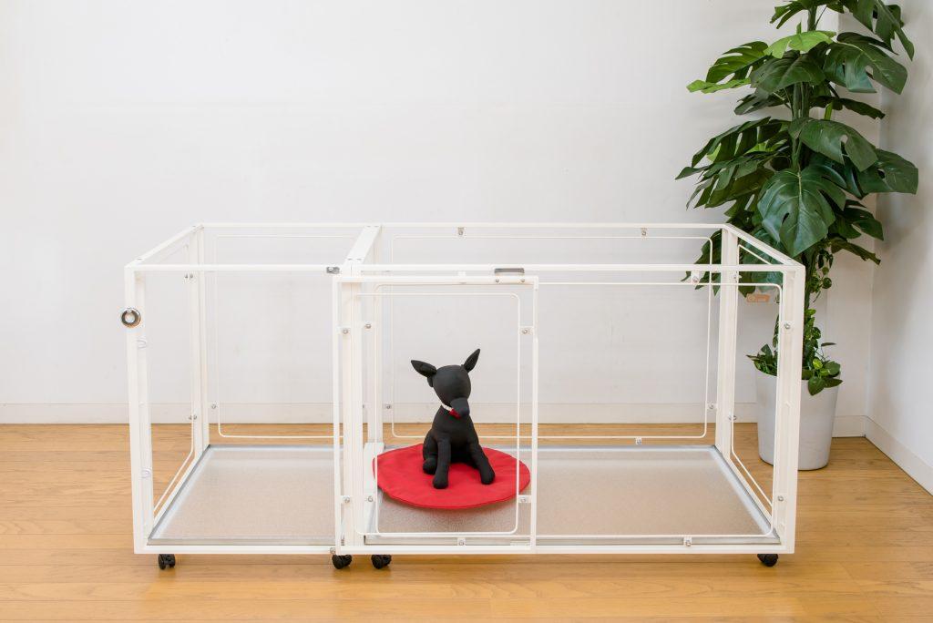 小型犬用コンパクトドアのケージ