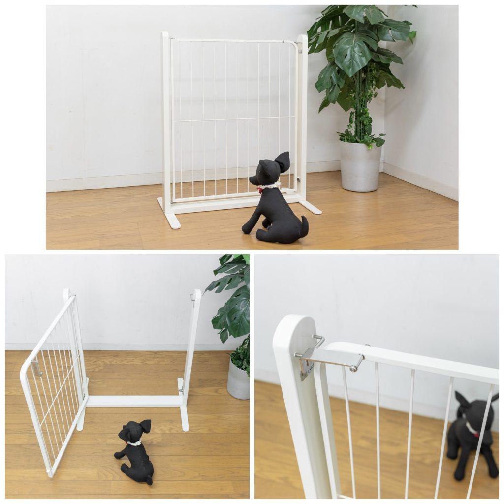 犬のドア付きオーダーゲート