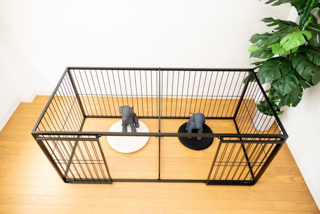 多頭飼いの小型犬ケージ